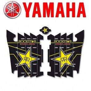 BLACKBIRD ROCKSTAR ENERGY LOUVER STICKERS - YAMAHA