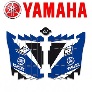BLACKBIRD DREAM 3 LOUVER STICKERS - YAMAHA
