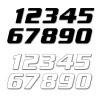 BLACKBIRD STARTNUMMERS 20 x 25CM (SET VAN 3)