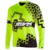 MVD RACEWEAR HONEY+ SHIRT - FLUOR GEEL / ZWART
