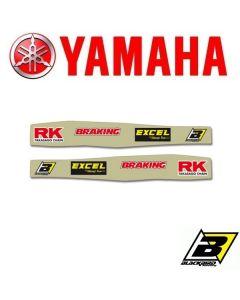 BLACKBIRD ACHTERBRUG STICKERS - YAMAHA