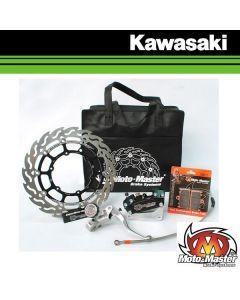 MOTOMASTER FLAME SUPERMOTO RACING KIT 320MM - KAWASAKI