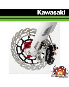 MOTOMASTER 320MM RACING FLAME SUPERMOTO REMSCHIJF VOOR - KAWASAKI