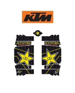 BLACKBIRD ROCKSTAR ENERGY LOUVER STICKERS - KTM