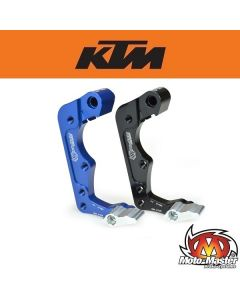 Moto-Master 260mm KTM bracket replica with skid plate