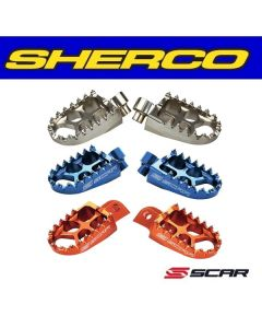 SCAR EVOLUTION RACING VOETSTEUNEN - SHERCO