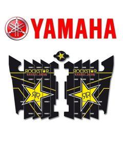 BLACKBIRD ROCKSTAR ENERGY LOUVER STICKERS - YAMAHA