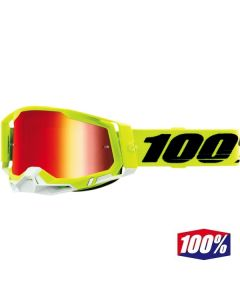 100% RACECRAFT 2 YELLOW