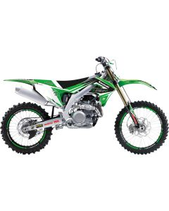KX 125/250 99-02 - DREAM 4 STICKERSET + ZADELOVERTREK