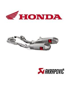 AKRAPOVIC EXHAUST TITANIUM EVOLUTION LINE - HONDA