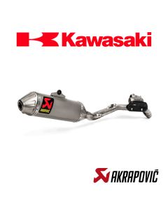 AKRAPOVIC EXHAUST TITANIUM EVOLUTION LINE - KAWASAKI