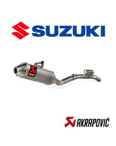 AKRAPOVIC EXHAUST TITANIUM EVOLUTION LINE - SUZUKI