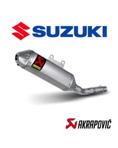 AKRAPOVIC EXHAUST TITANIUM SLIP ON LINE - SUZUKI
