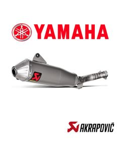 AKRAPOVIC EXHAUST TITANIUM SLIP ON LINE - YAMAHA