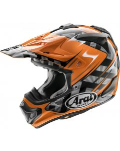 ARAI MX-V - SCOOP ORANJE
