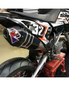 DVR EXHAUST - KTM EXC SXF SLIP-ON DEMPER