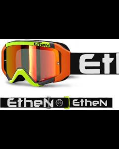 ETHEN 05 R ZWART/ ORANJE/ FLUO GEEL