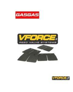 V-FORCE 3 MEMBRAANPLAATJES - GAS GAS