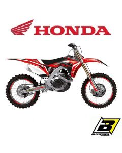 CRF 450 09-12 - DREAM 4 STICKERSET + ZADELOVERTREK
