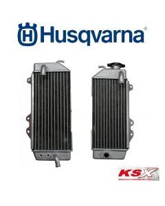 KSX RADIATEUR LINKS / RECHTS / SET - HUSQVARNA >14