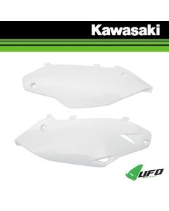 UFO ZIJPANEEL / NUMMERPLAAT - KAWASAKI