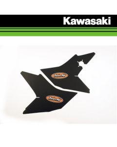 TWIN AIR AIRBOX STICKER - KAWASAKI