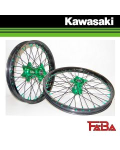 FA-BA WHEELS MOTOCROSS/ ENDURO WIELEN KAWASAKI