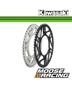 MOOSE RACING ALUMINIUM OF STALEN ACHTERTANDWIEL - KAWASAKI