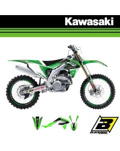 KX 125/250 94-98 - DREAM 4 STICKERSET + ZADELOVERTREK