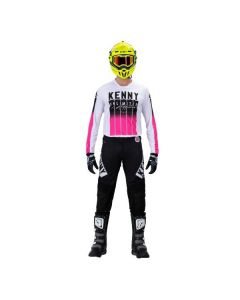 KENNY CROSSPAK PERFORMANCE - STRIPES ZWART/ ROZE