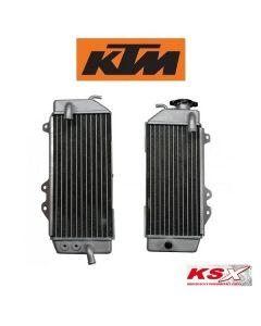 KSX RADIATEUR LINKS / RECHTS / SET - KTM