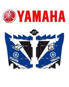 BLACKBIRD DREAM 3 LOUVER STICKERS - YAMAHA