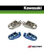 SCAR EVOLUTION RACING VOETSTEUNEN - KAWASAKI