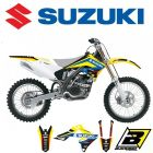 BLACKBIRD DREAM 4 STICKERSET - SUZUKI